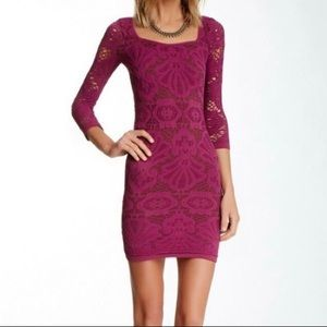 Intimately Free People Berry Blush Knit Dress XS/S